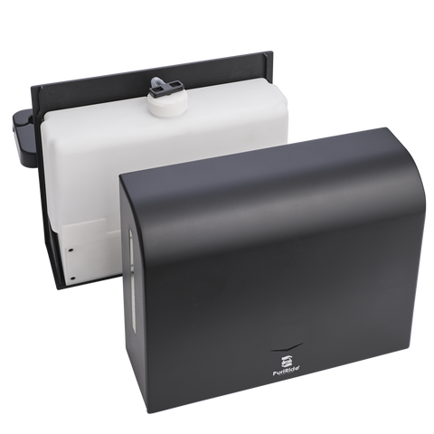Automated Back Seat Dispenser Replaceable Cartridge