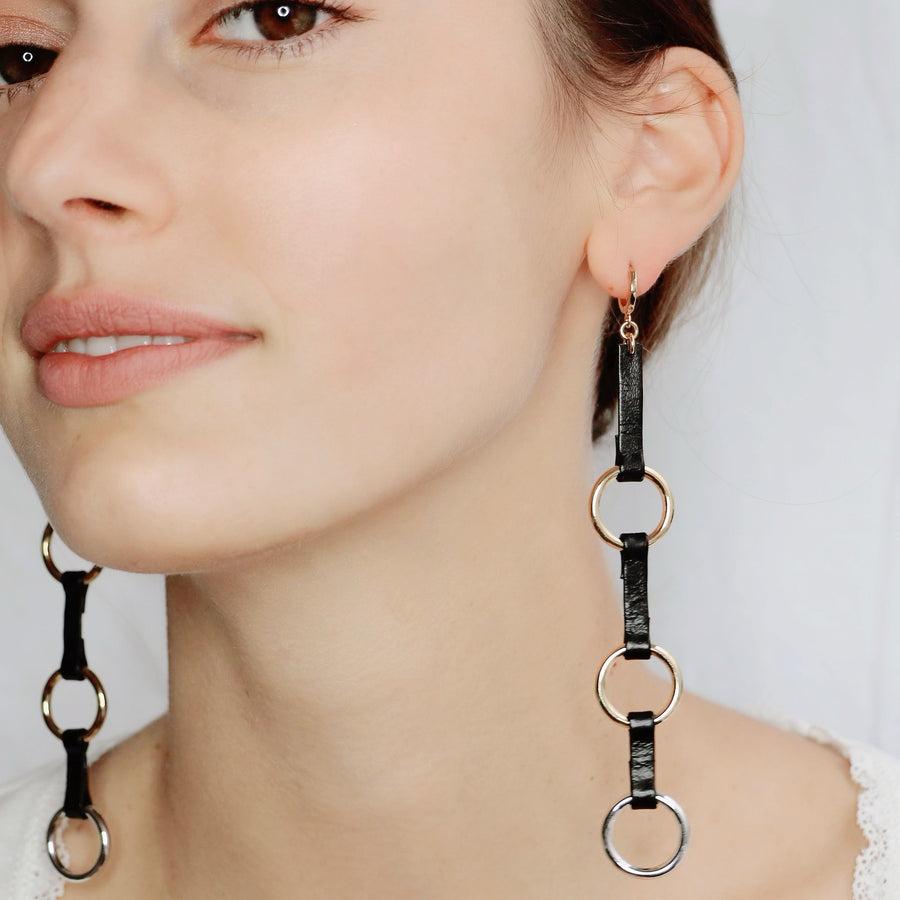 Boucles d'oreille 3 Alliance
