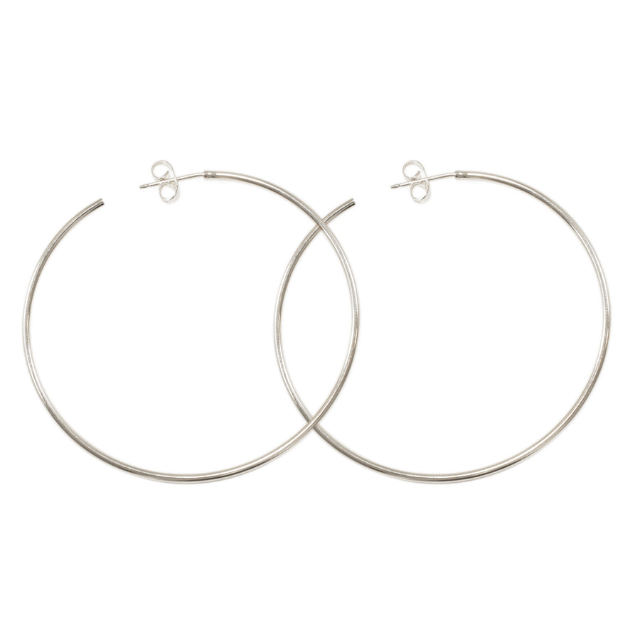 Diamond Hoop Earrings 2