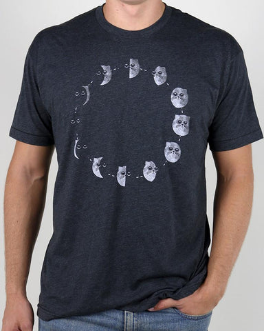 Cat Phases Tee