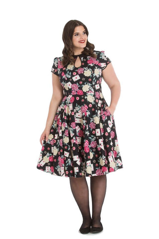 Queen Of Hearts Dress - 2xl