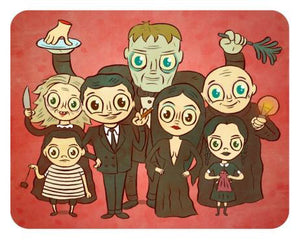 Addams Family Print by Jellykoe