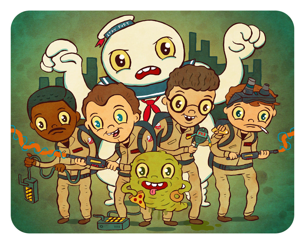 Ghostbusters Print by Jellykoe