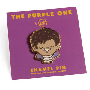The Purple One Pin