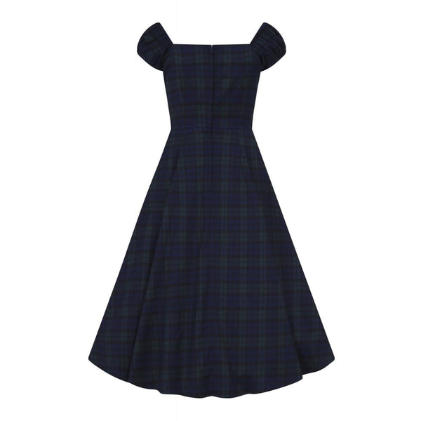 Tartan Dolores Dress - xsmall, 3xl