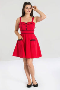 Vanity Mini Dress - Red - XLarge
