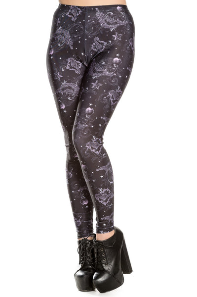 Dark Sea Leggings