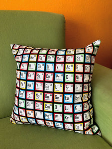 Periodic Table Pillow