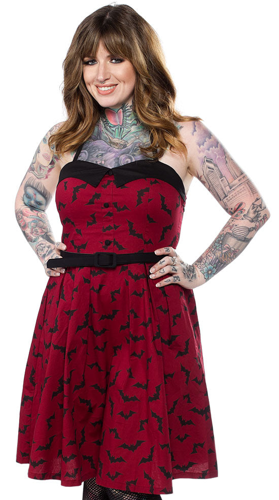 Sourpuss Luna Bat Dress