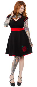 Dollface Rose Dress