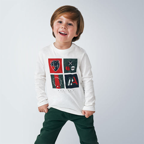 Mayoral Boys long sleeved t-shirt - 4048