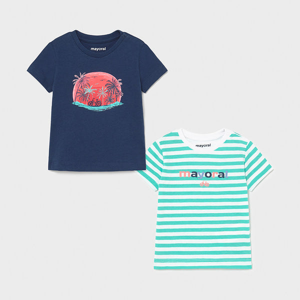 Mayoral Baby Boys set of 2 t-shirts - 1015 086