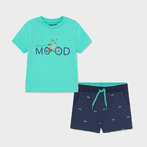 Mayoral Baby Boy short and t-shirt set - 1673 55