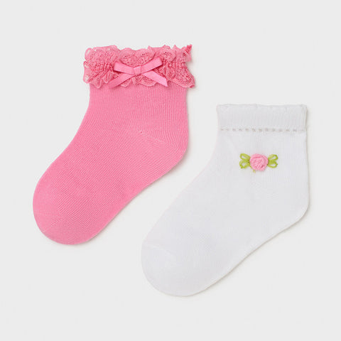 Mayoral Baby Girl set of 2 ankle socks - 10011 27