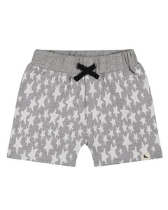 Turtledove London Boys organic cotton star jersey shorts