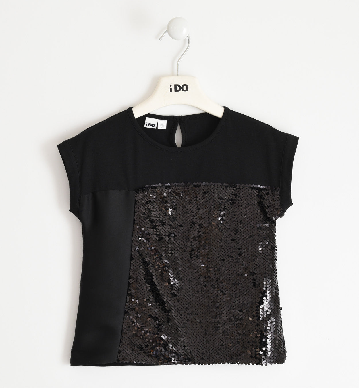 iDO Girls sequin t-shirt - 42494 0658