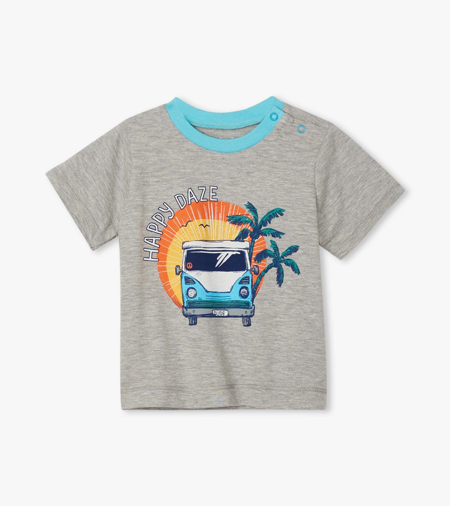 Hatley Baby Boy Summer Vacation Graphic T-shirt