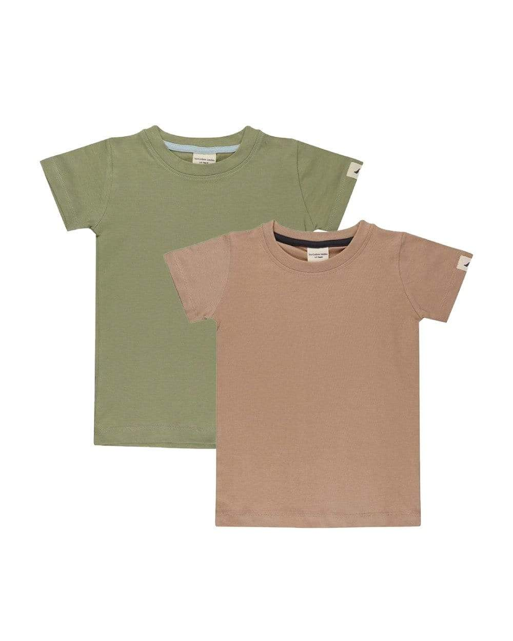 Turtledove London pack of 2 organic cotton t-shirts - KTD370