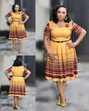 Load image into Gallery viewer, 2019 new arrival summer  Hot African lady fashion dress XL-4XL