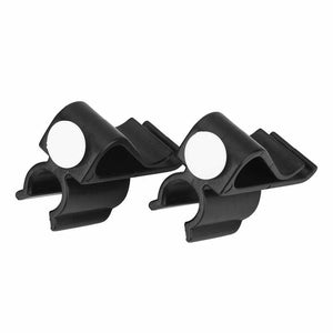 2 Pack Golf Club Clip, Golf Bag Clip Plastic Golf Pole Rack On Putter Clamp Holder Putting Organizer Club Ball Marker