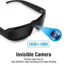 Load image into Gallery viewer, 1080P HD Safety Camera Glasses Hidden Eyeglass Sunglasses Cam Eyewear DVR