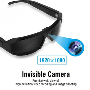 1080P HD Safety Camera Glasses Hidden Eyeglass Sunglasses Cam Eyewear DVR