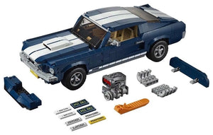 In stock 21047 Creator Ford Mustang 1967 GT500 Cars Expert Model Compatible with Legoing 10265 Building Blocks Brick Technic