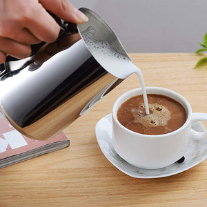 Stainless Steel Cup For Milk Coffee Latte Art