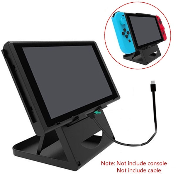 Foldable Switch Holder Stand Adjustable Portable Game Console Bracket Holder Special for Nintendo Switch Console TNS-1788, Phone, Pad