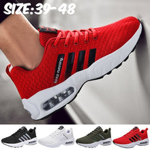 Load image into Gallery viewer, Mens Air Running Tennis Shoes Fashion Lightweight Thick Laces Gym Sport Workout Fitness Athletic Walking Sneakers