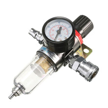 Load image into Gallery viewer, AFR-2000 1/4' Air Compressor Filter Water Separator Trap Tools Kit Regulator Gauge Recommend Regulating Pressure Range: 30-120PSI