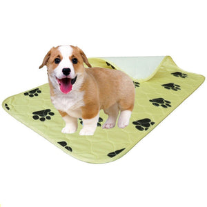 40*60/70*80/80*90cm Waterproof Reusable Cat Claw Printed Dog Pee Pad Washable Puppy Training Pad Pet Training Floor Mats