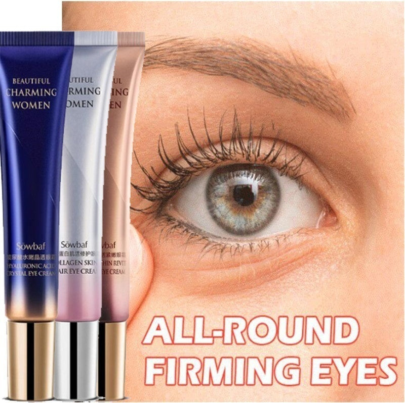 Eye Cream Hyaluronic Acid Caviar Anti-Wrinkle Anti-aging Remover Dark Circles Eye Care
