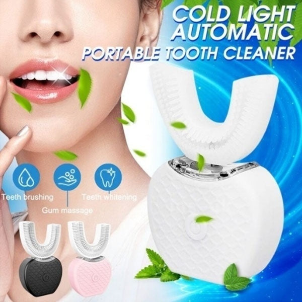 New Whitening Automatic Electric Toothbrush Ultrasonic USB Connected Toothbrush