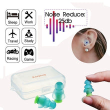 Load image into Gallery viewer, Concerts Soundproof Noise Reduction Noise Cancelling Hearing Protection Silicone Ear Plugs