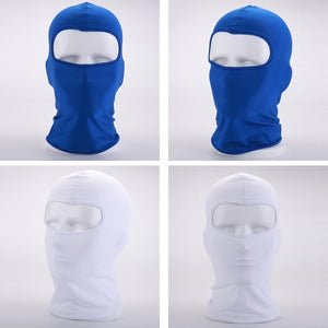 Outdoor Protecting Ultra-thin lycra Full Face Mask Neck Cycling Accessories