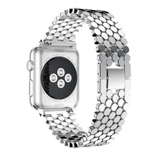 Load image into Gallery viewer, YAYUU Fashion Sports Stainless Steel Watch Band Replacement Strap For Iwatch 38/40/42/44 Mm Compatible with Series 4/3/2/1