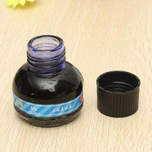 Load image into Gallery viewer, Hero 234 Blue/black/red  Carbon Fountain Pen Ink Writing Ink Refill Glass Bottle