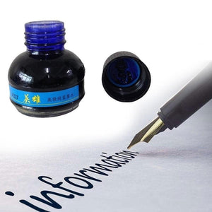 Hero 234 Blue/black/red  Carbon Fountain Pen Ink Writing Ink Refill Glass Bottle