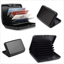 Load image into Gallery viewer, Business ID Credit Card Cash Pocket Holder Wallet Aluminum Alloy Shell Case