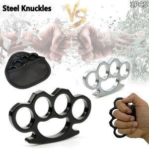 Metal Knuckles Self-defense EDC finger fist buckle Multi-functional  gloves four fingers Tactical Survival  Self Defense Tool