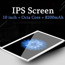 Load image into Gallery viewer, 10.1 Inch 8+512GB Tablet MTK6797 Dual SIM Card Phone 4G Call Wifi Tablets PC