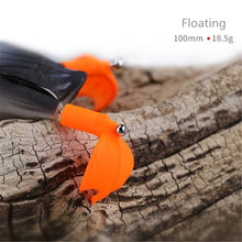 Load image into Gallery viewer, Bass Fishing Lures 10cm Topwater Lures Duck Fishing Soft Baits With Splash Feet