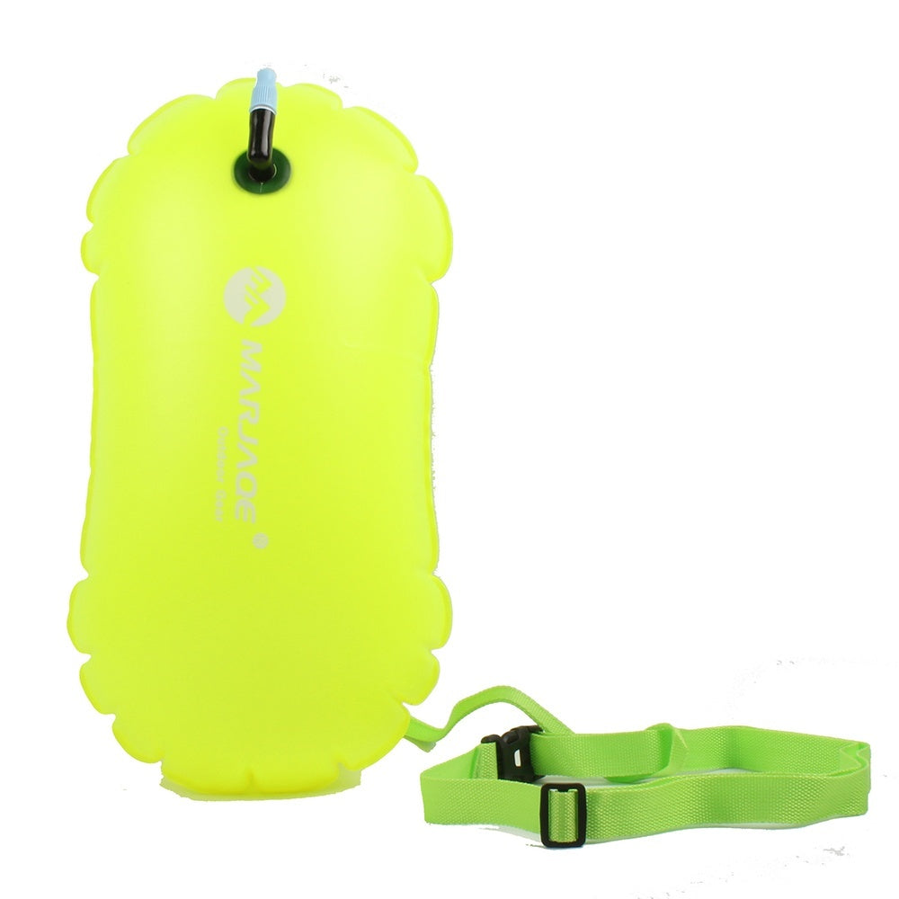 PVC Swimming Buoy Safety Float Air Dry Bag Tow Float Swimming Inflatable Flotation Bag