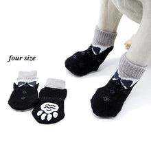 Load image into Gallery viewer, Large Dog Puppy Protective Paw Print Pet Shoes Non-Slip Dog Socks