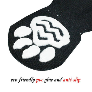 Large Dog Puppy Protective Paw Print Pet Shoes Non-Slip Dog Socks