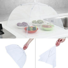 Load image into Gallery viewer, 2pcs Large Pop-Up Mesh Screen Protect Food Cover Tent Dome Net Umbrella Picnic New Umbrella Style Food Covers Anti Fly Mosquito Meal Cover Table Home Using Food Cover Kitchen Gadgets