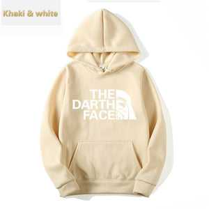 Fashion Men's and Women's Hoodies Star Wars Dass Face Sweater High Quality Hoodie