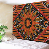 Summer Boho Geometric Pattern Carpet Picnic Beach Mat Sleeping Blanket Wall Hanging Tapestry Decorative Bohemian Tapestries