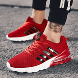 Mens Running Shoes Air Cushion Sneakers Lightweight Athletic Tennis Sport Shoe for Men Size 39-46